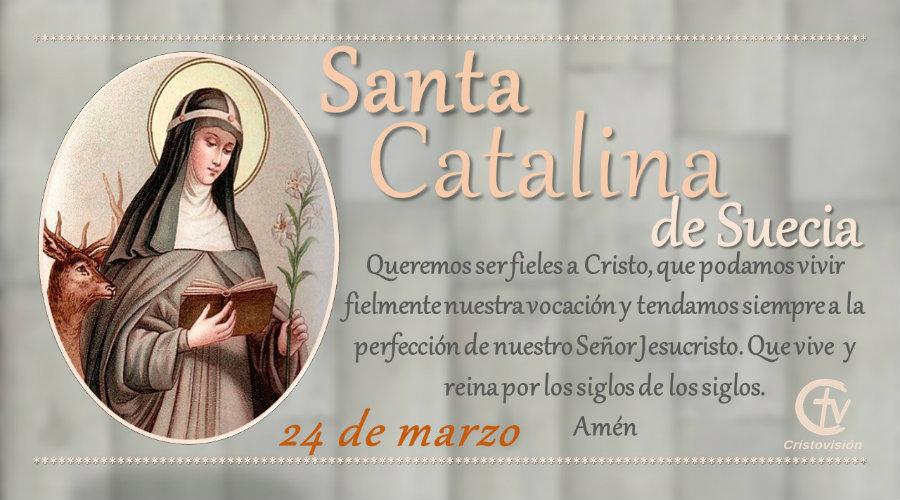 SANTO DEL DÍA || Santa Catalina de Suecia, religiosa